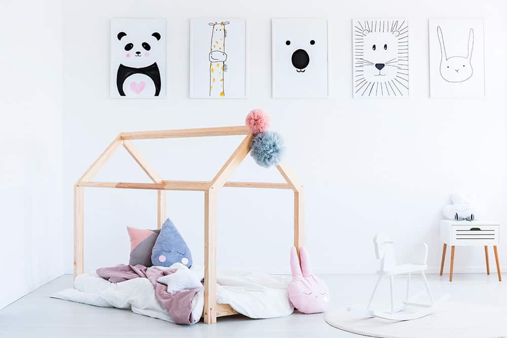 camas Montessori bonitas para fomentar la autonomía
