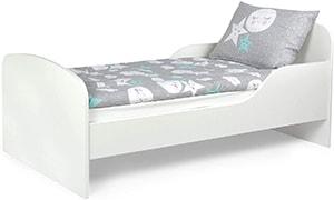 cama clásica para niños pequeña y bajita estilo Montessori