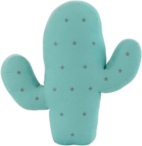 Cojín en forma de cactus