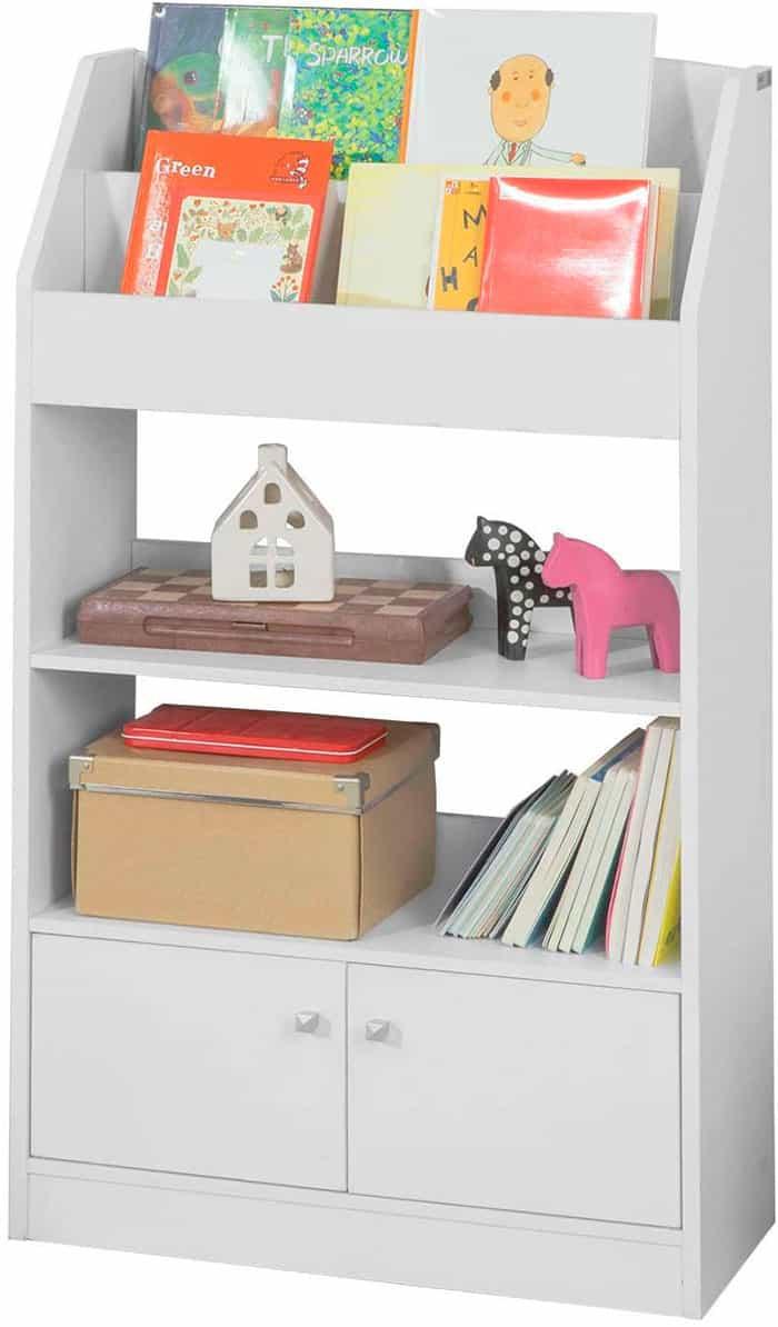 biblioteca infantil con almacenaje