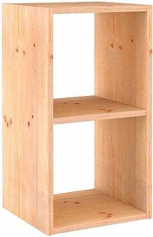 columna de dos cubos