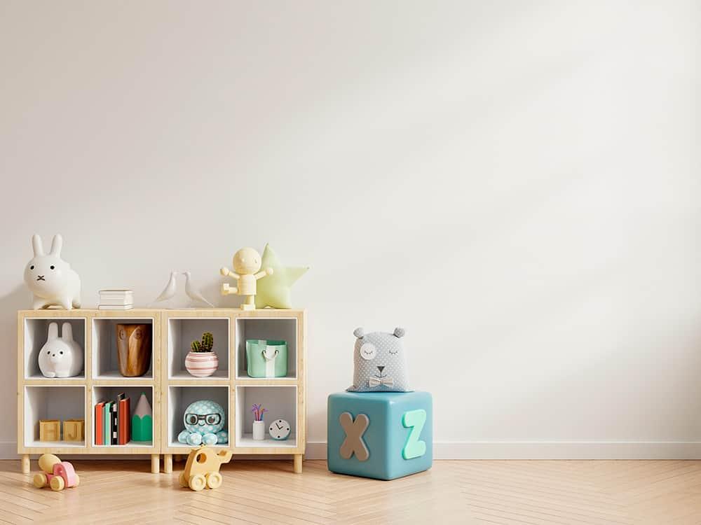 muebles de recogida para tener los juguetes ordenados para niños y niñas