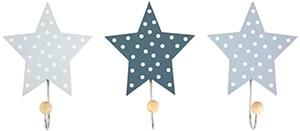 Colgador infantil con forma de estrella con gancho