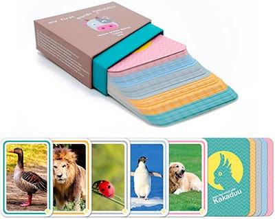 Cartas de vocabulario de animales