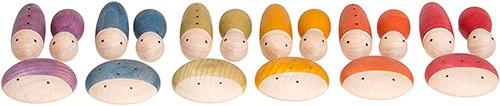 Bichitos de madera Waldorf