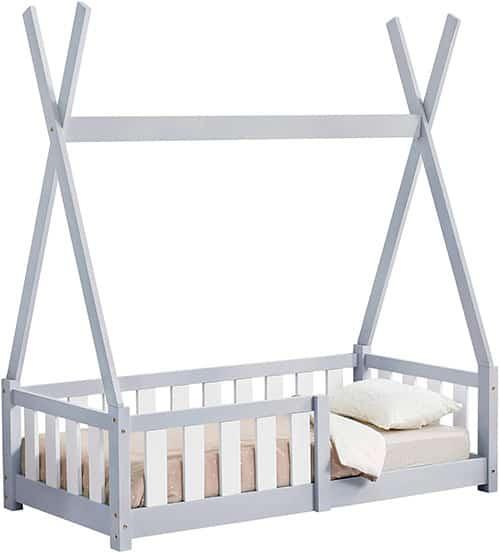 cama montessori tipi gris