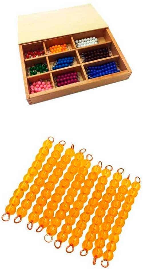 Kit completo cuentas Montessori
