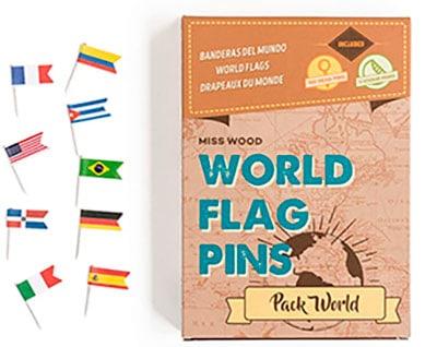 juego de banderas de países
