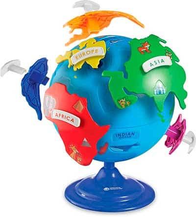 globo terraqueo infantil